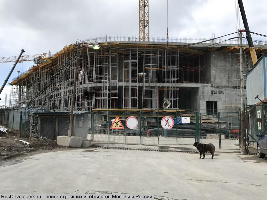 db9f67ce Строительство нового торгового центра ГАЛЕОН на Ленинском проспекте.